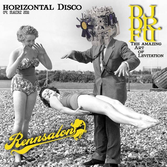Horizontal Disco im Rennsalon