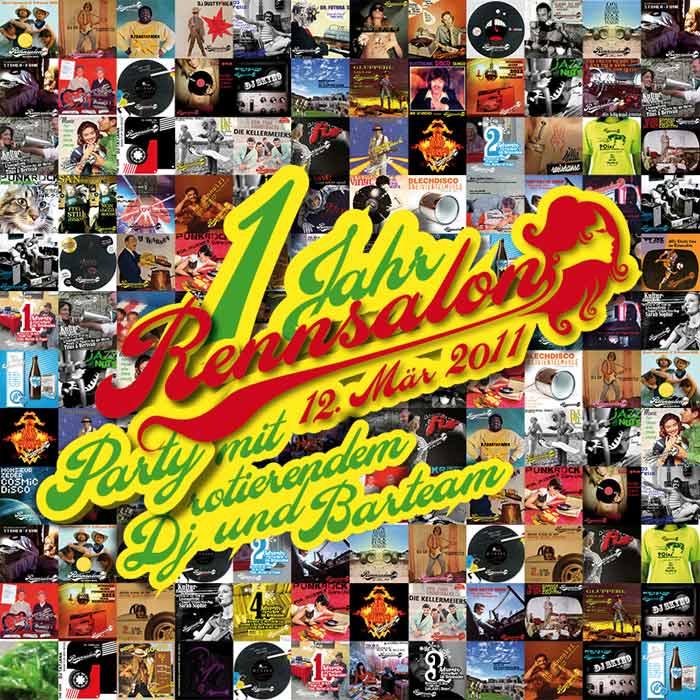 1 Jahr Rennsalon - Geburtstagsparty