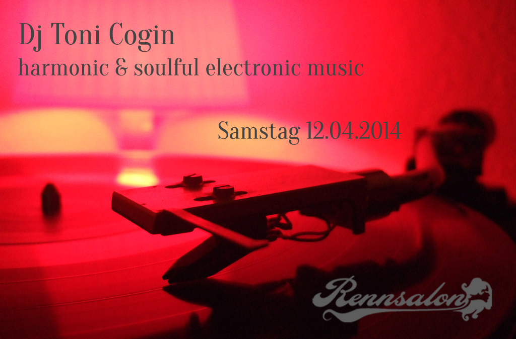 Toni Cogin am 12.04.2014 im Rennsalon