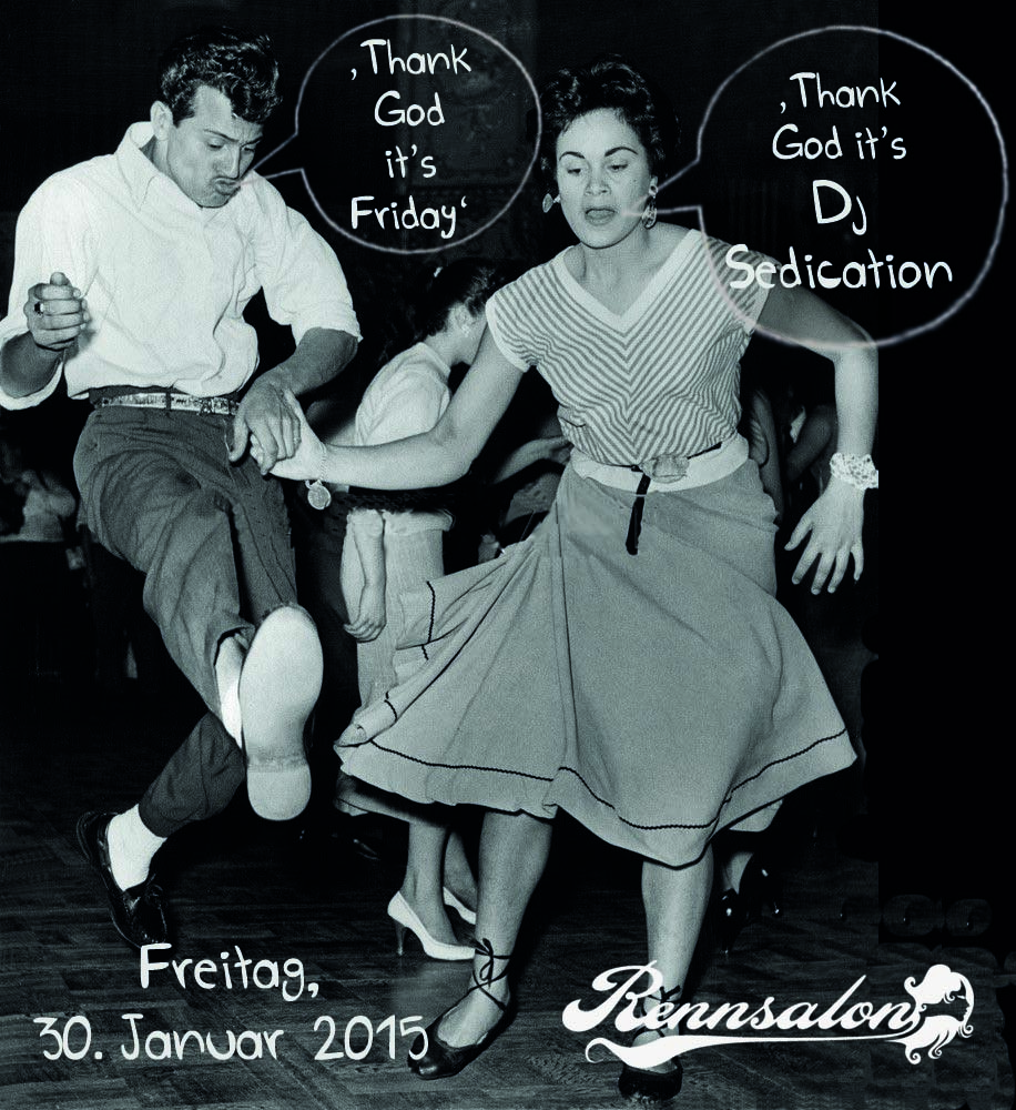 DJ Sedication am 30.01.2015 im Rennsalon