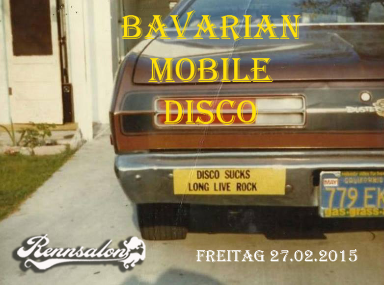Bavarian Mobile Disco im Rennsalon