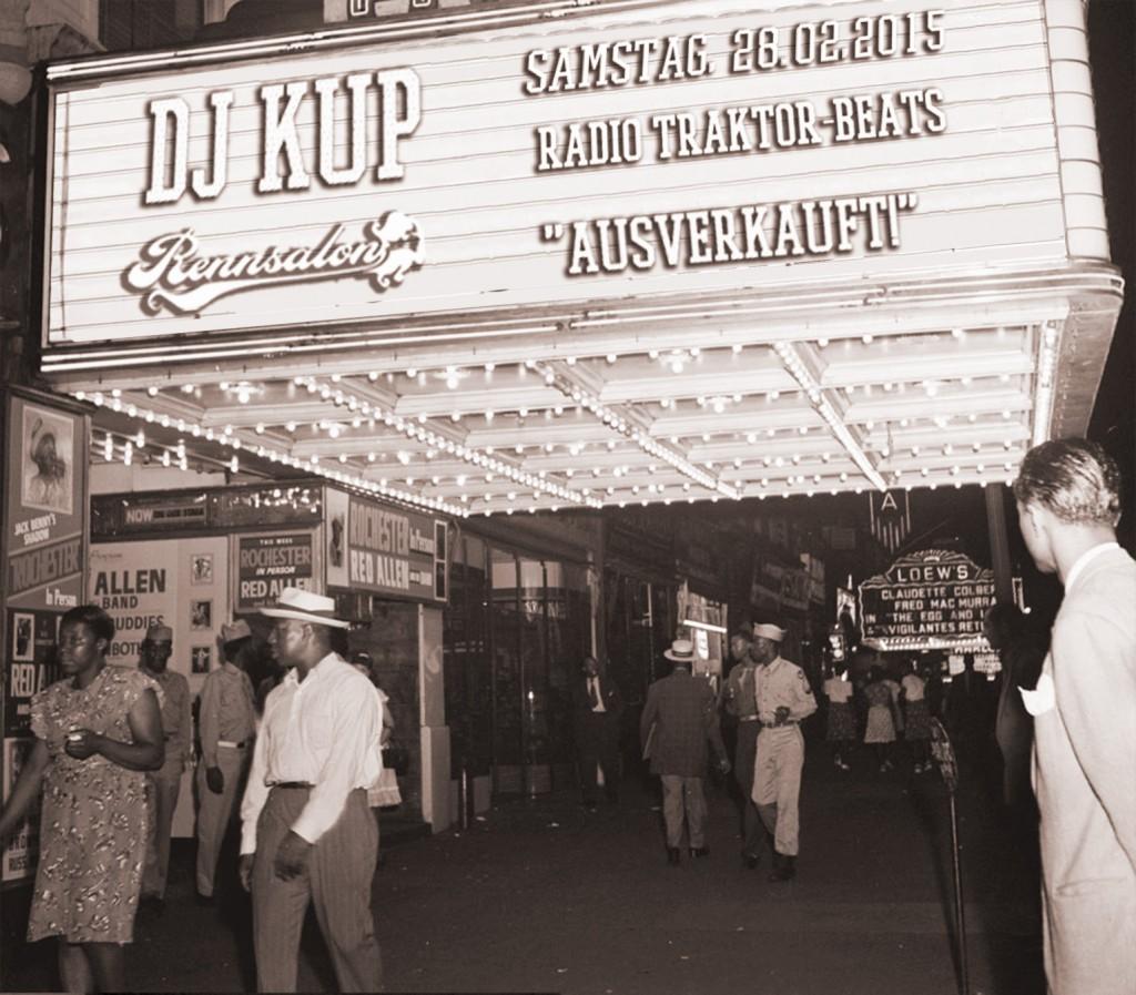 DJ Kup im Rennsalon