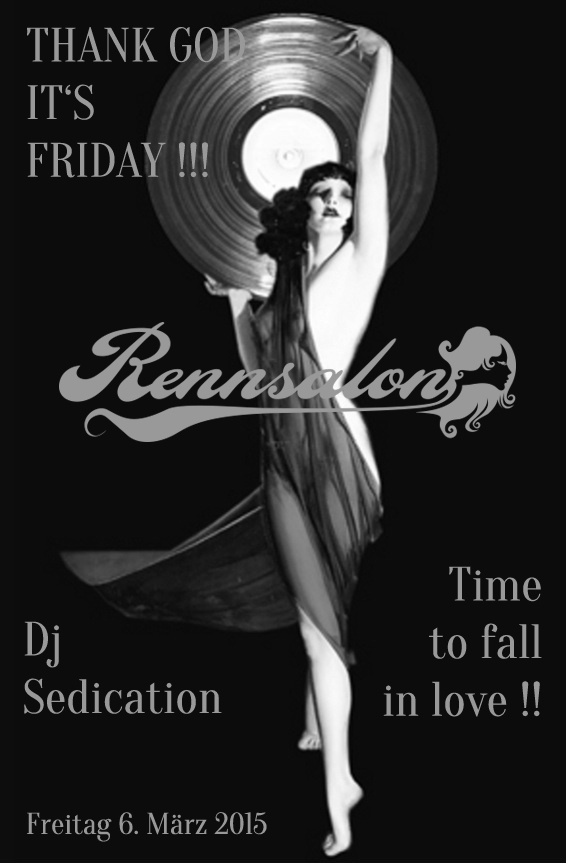 DJ Sedication im Rennsalon