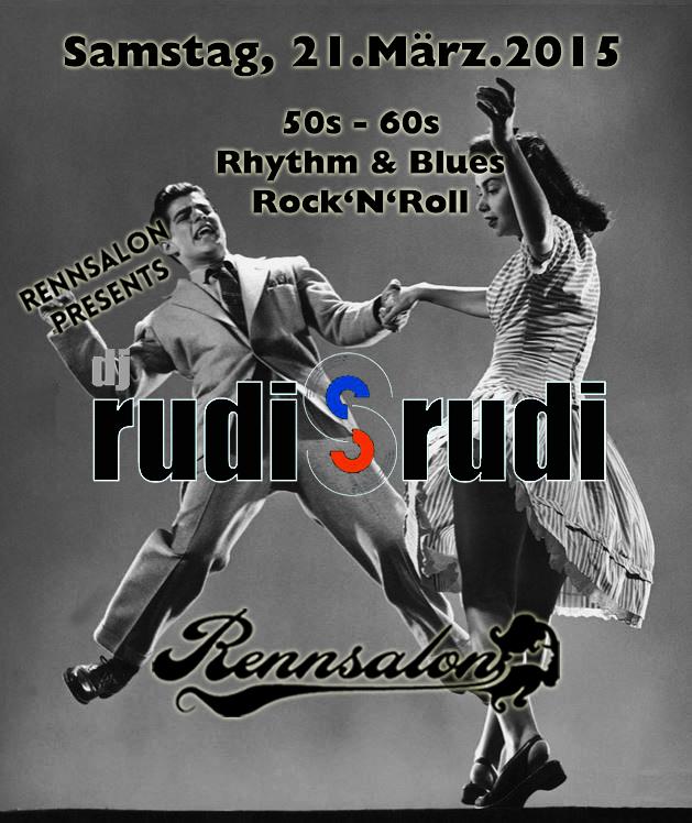 Rudis Rudi am 21.03.2015 im Rennsalon
