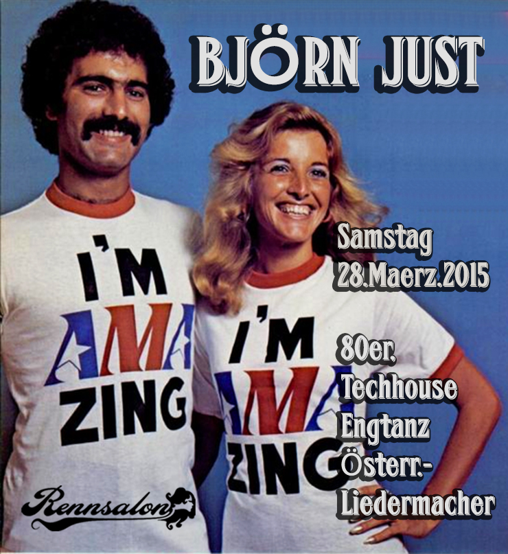 Björn Just am 28.03.2015 im Rennsalon