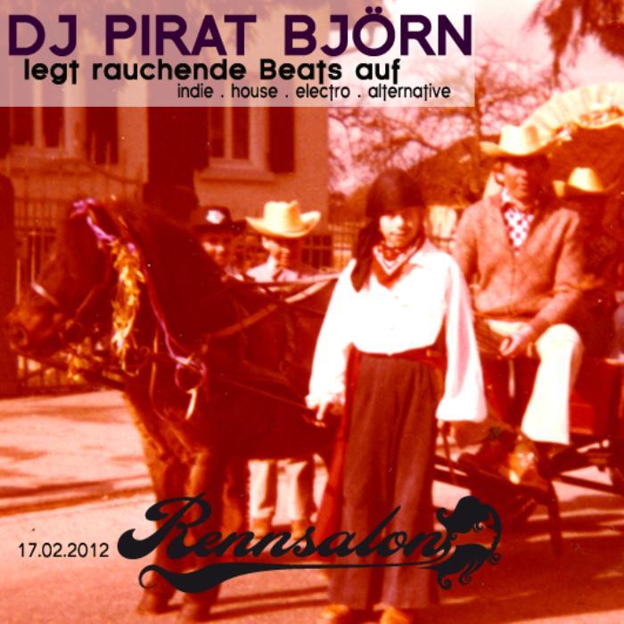 DJ Pirat Björn am 17.02.2012 im Rennsalon