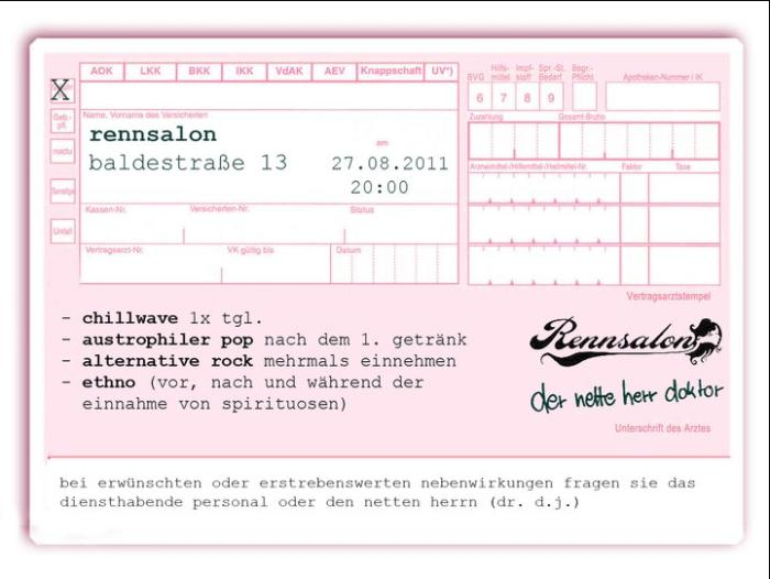 Rennsalon Der Nette Herr Dr Dj Am 27082011 Im Rennsalon